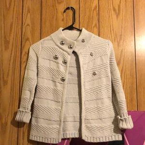 Cute girls sweater jacket